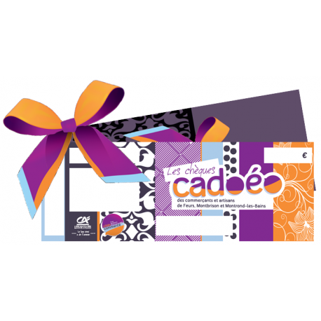 Chèques cadeaux Cadoéo - Particulier
