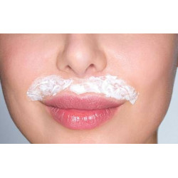 Décoloration duvet lèvres