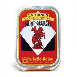 Sardines Saint-Georges à l'huile d'olive