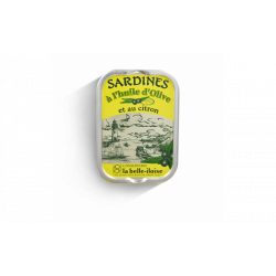 Sardines à l'huile d'olive et au citron
