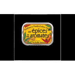 Sardines aux épices et aux aromates