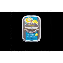 Sardines cuisinées à déguster chaud au beurre de baratte