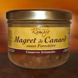 Magret de canard sauce forestière