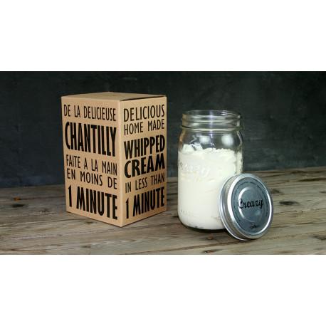 CREAZY de COOKUT, la crème chantilly simple et écologique