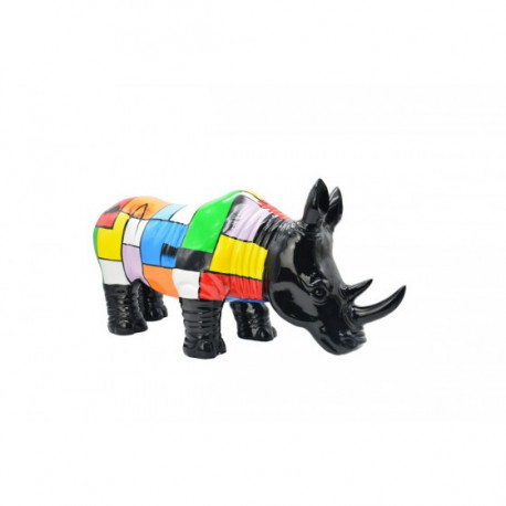 rhinoceros decor abstrait