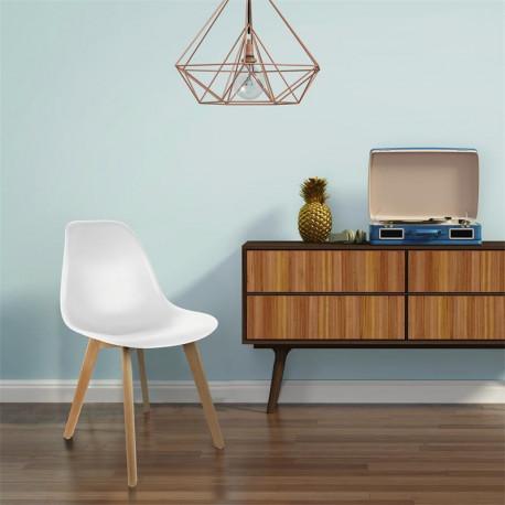 chaise de style scandinave