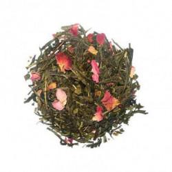 Thé vert - Rose c'est la Vie