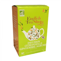 Infusion Citronnelle Gingembre Agrumes - BIO