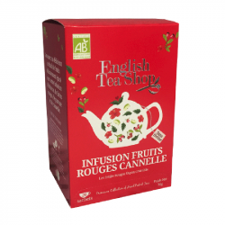 Infusion Fruits rouges cannelle - BIO