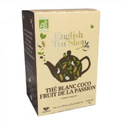 Thé Blanc Coco Fruit de la passion - BIO