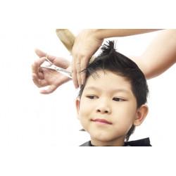 Coupe Garçon avec Shampooing -12 ans
