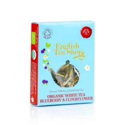 Thé blanc fleur de sureau et myrtille BIO 1 sachet pyramide
